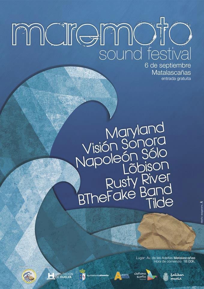 Diseño Maremoto sound festival 2014