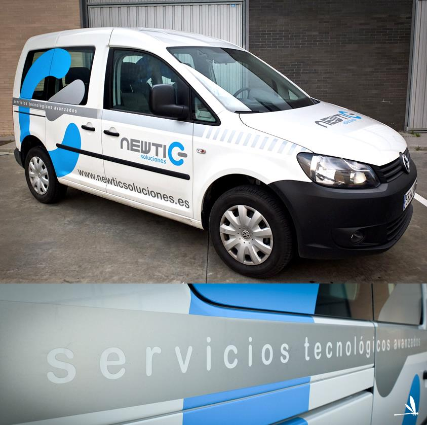 new tic rotulacion vehiculos Huelva