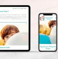 Diseño web Asociación Alcores