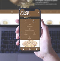 Diseño Web de pedidos comida a domicilio